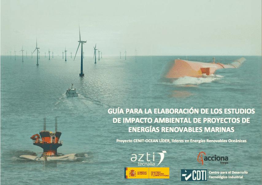 estudios de impacto ambiental de proyectos de energías renovables marinas