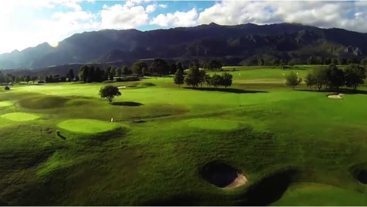 inspecciones campo de golf con drones