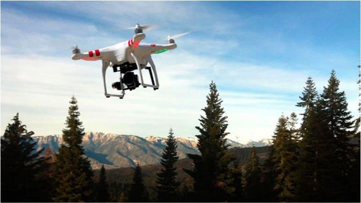 forestales con drones