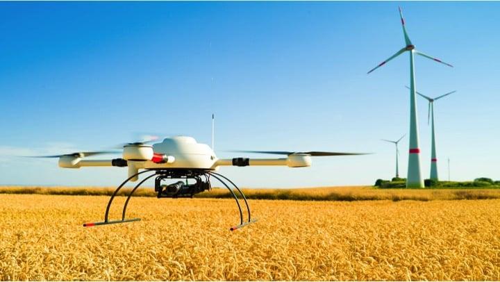 inspeciona industrial con drones