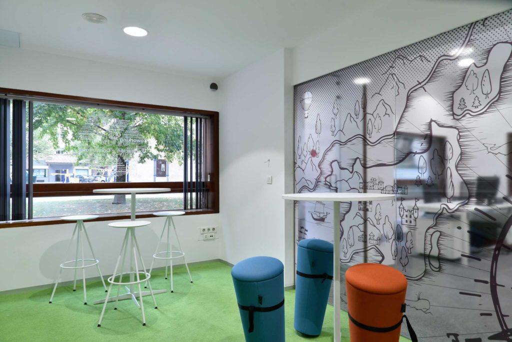 Coworking Geoinnova - Sala de descanso