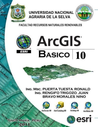 Manual de ArcGIS 10. BÁSICO
