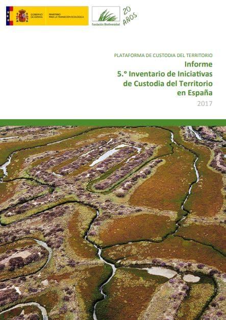 Informe 5º Inventario de Iniciativas de Custodia del Territorio en España