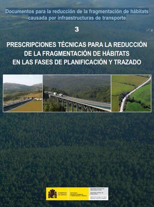 Preinscripciones Técnicas para el diseño de pasos de fauna y vallados perimetrales