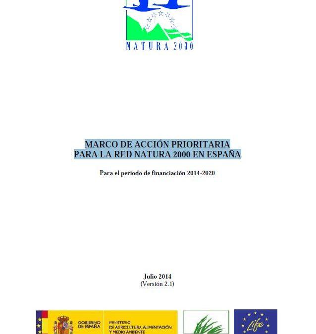Marco Prioritario para la Red Natura 2000 en España