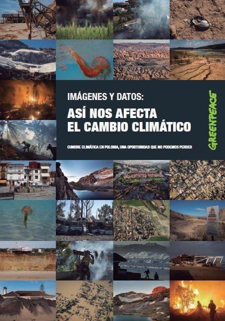 Imagenes y Datos- Así nos afecta el Cambio Climático