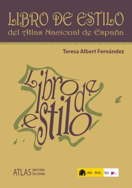 Libro de estilo Atlas Nacional Español