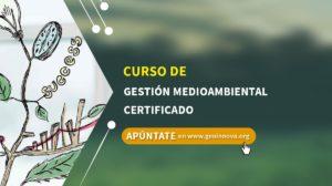 Curso de Gestión Medioambiental certificado