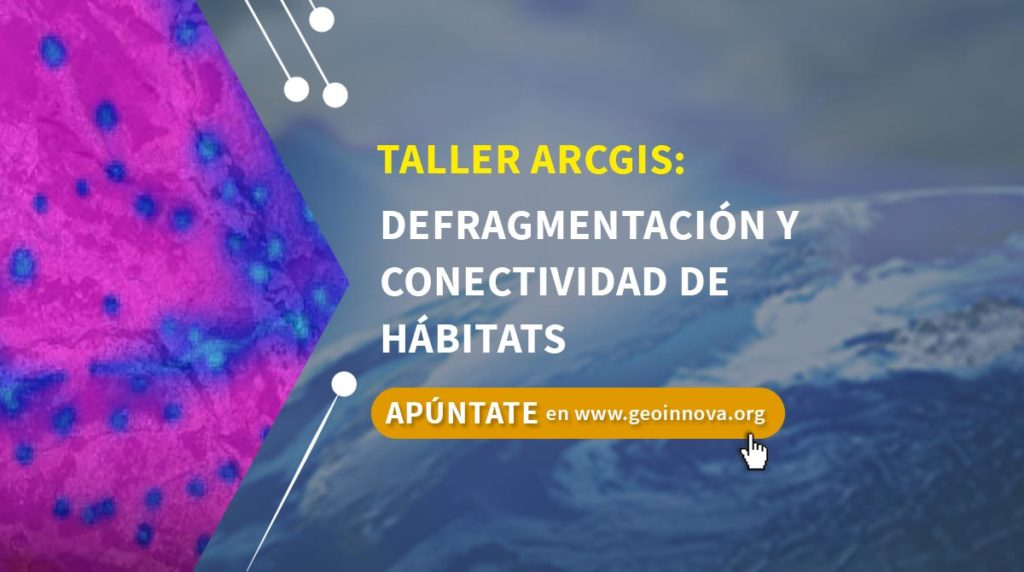 Curso ArcGIS: Defragmentación y conectividad de hábitats