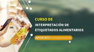 Curso de Interpretación de etiquetados alimentarios