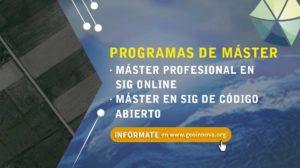 Programas de Máster SIG de Geoinnova