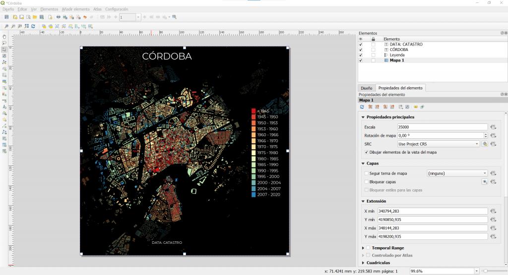 Composición de mapa con QGIS