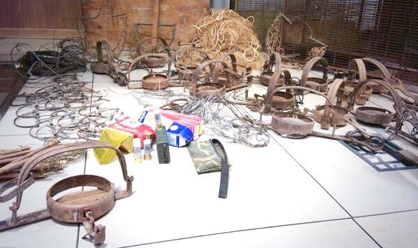 Artes de caza ilegales incautadas por el SEPRONA. Fuente: cadenaser.com