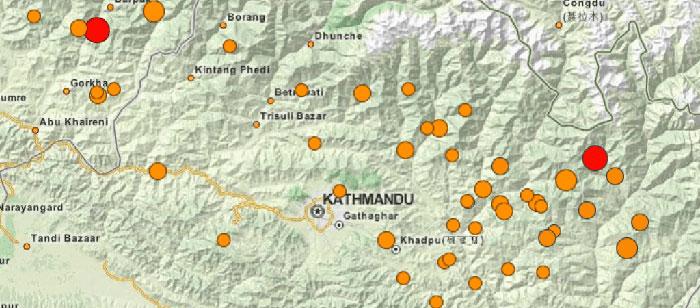 Cartografía Colaboratíva en un Terremoto de Nepal