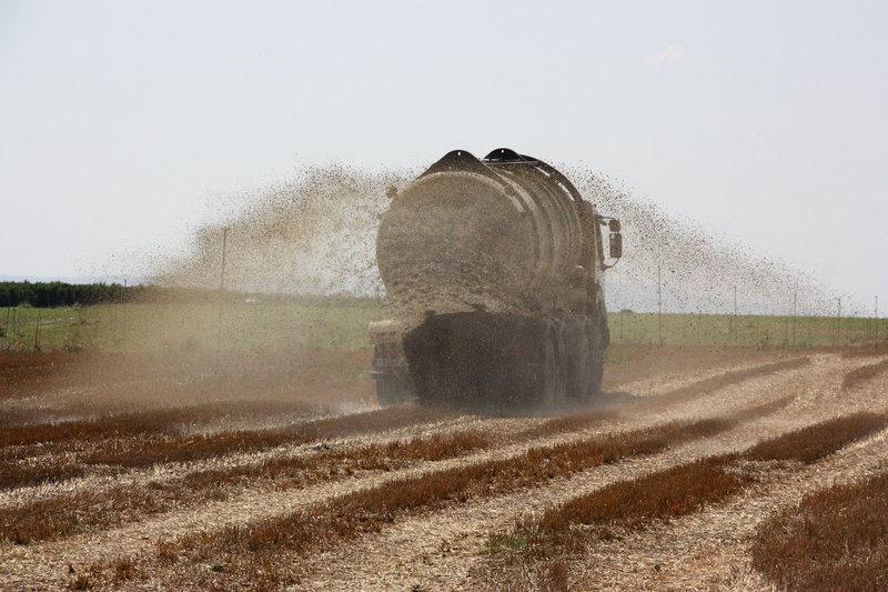 l Utilización de deyecciones ganaderas para abonar los campos