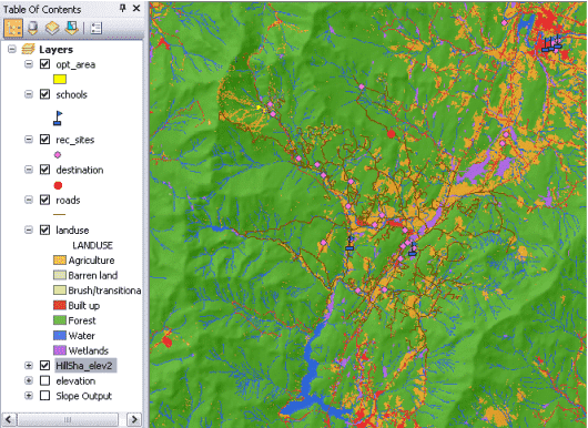ArcGIS Spatial Analyst