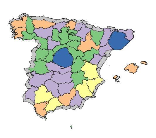 Cartograma 2 iteraciones