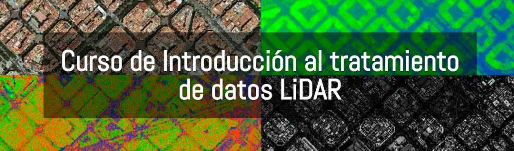 Consulta en la agenda de cursos nuestro Curso de Introducción al tratamiento de datos LiDAR