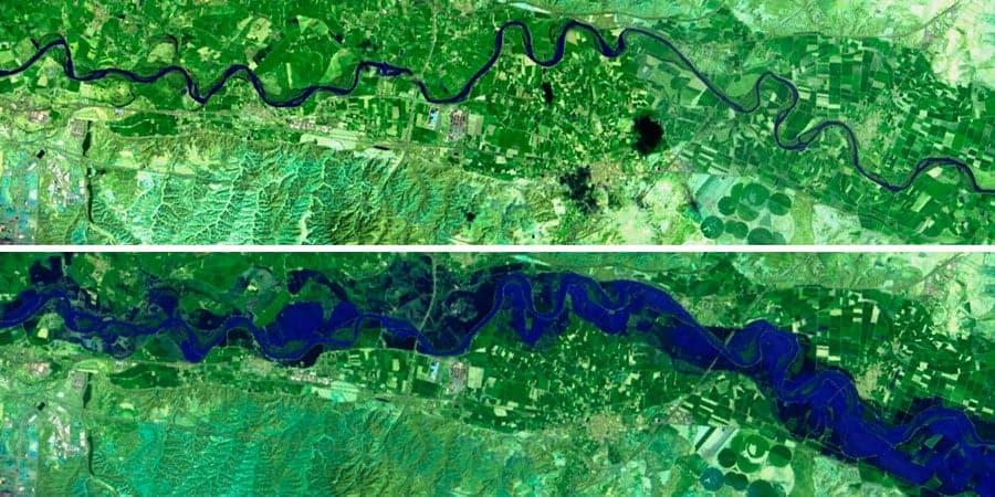 Curso de teledetección para análisis de inundaciones