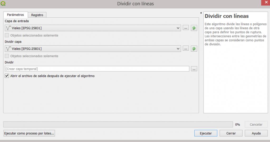 DIVIDIR LINEAS EN QGIS 3