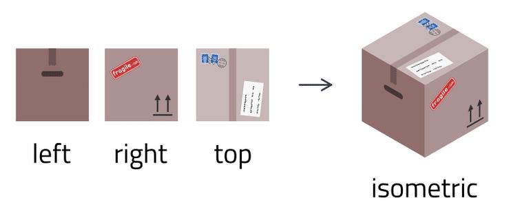 Isometric Projection Converter01