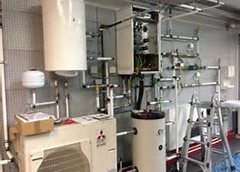 Geotermia y aerotermia para ahorrar energía