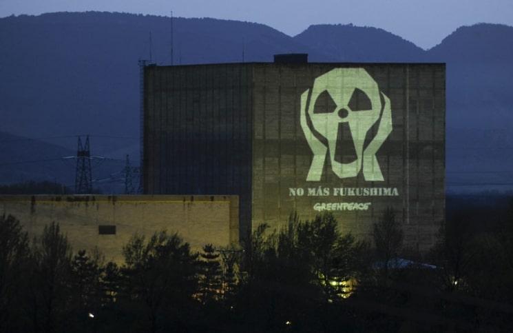 Central nuclear de Garoña Fuente: www.greenpeace.org