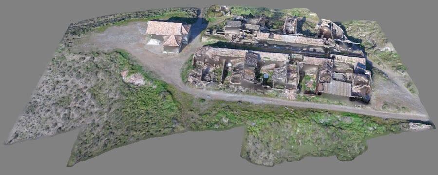 Modelos 3D y mosaicos aéreos con Agisoft Photoscan