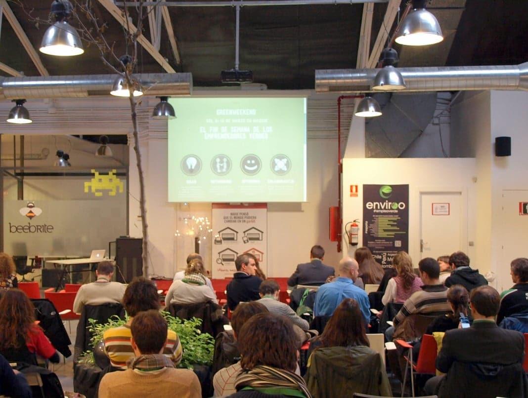 Momento del Greenweekend en la edición de Madrid