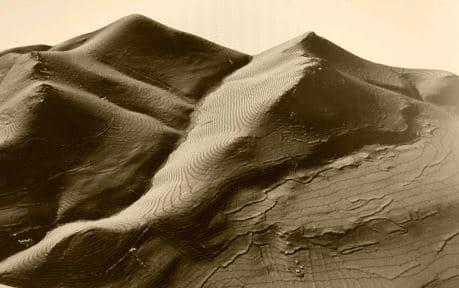 Generación de un Modelo Digital del Terreno. Fuente: imagen propia