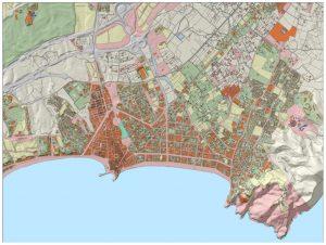 Imagen del SIOSE de Alta Resolución. Fuente: Geoportal SIOSE.