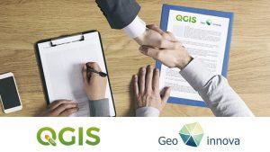 Acuerdo QGIS y Geoinnova