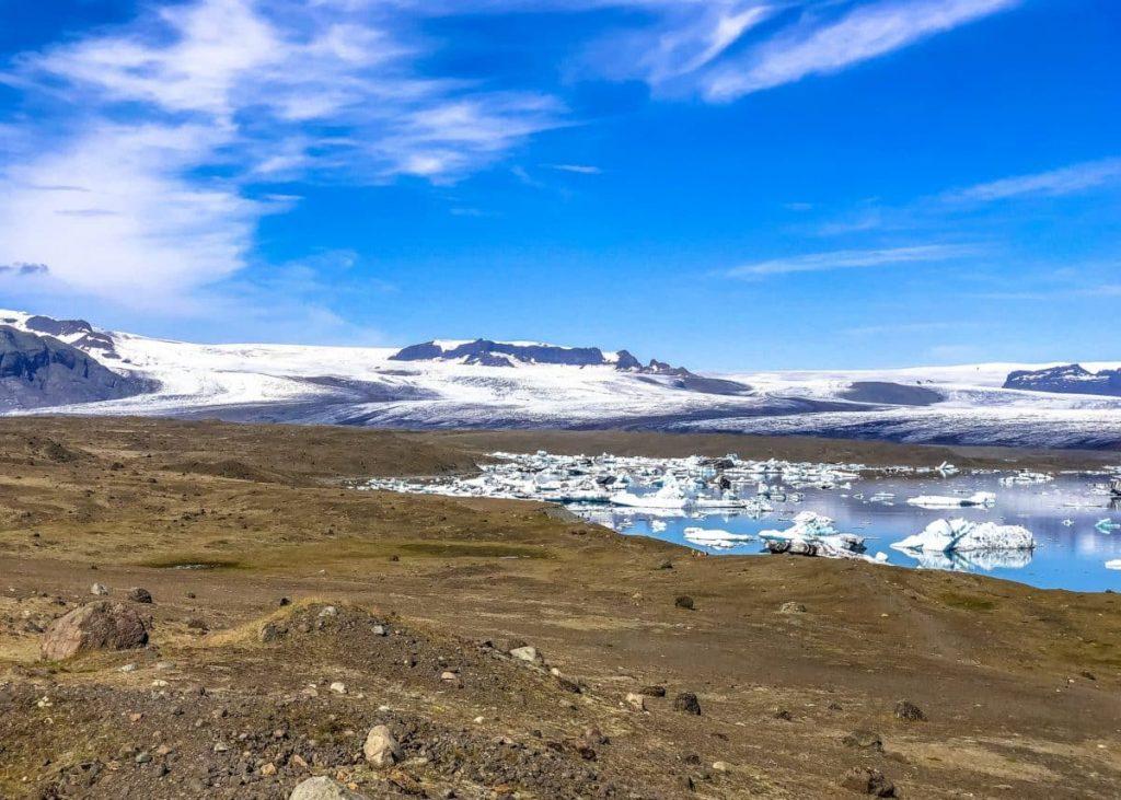 El derretimiento de glaciares es una de las consecuencias del cambio climático