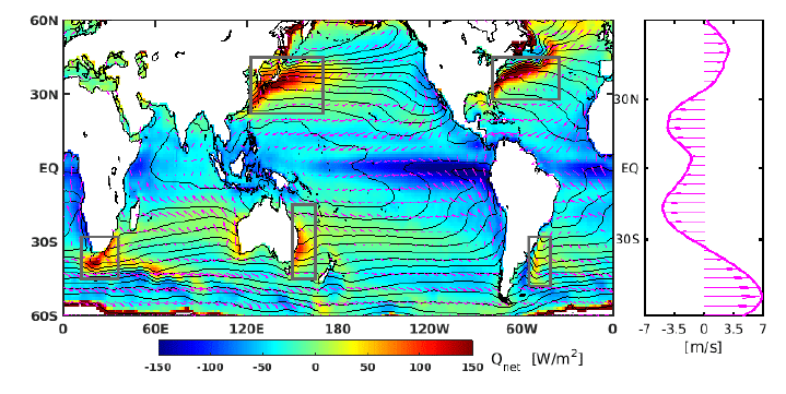 circulación global oceánica