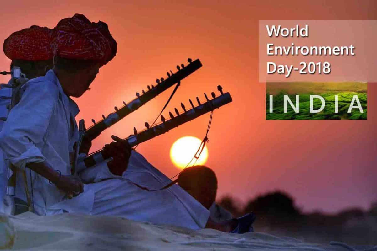 El Día Mundial del Medio Ambiente 2018 tiene su sede principal en India