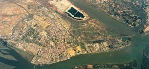 Los fosfoyesos de Huelva están acumulados desde hace más de 40 años
