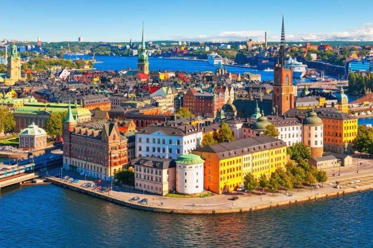 Suecia es el país con índice más elevado de renovables.