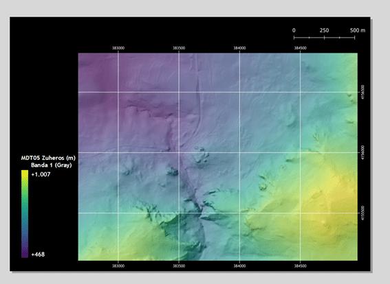 Leyendas gradientes en composiciones de mapas en QGIS