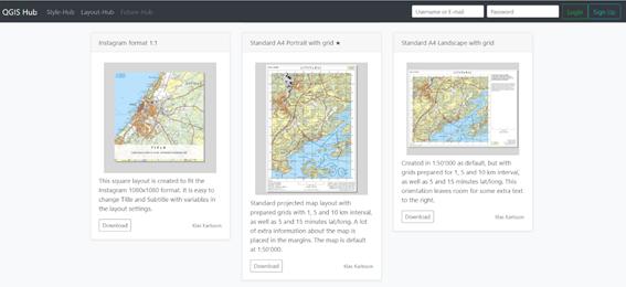 proyecto colaborativo QGIS Hub
