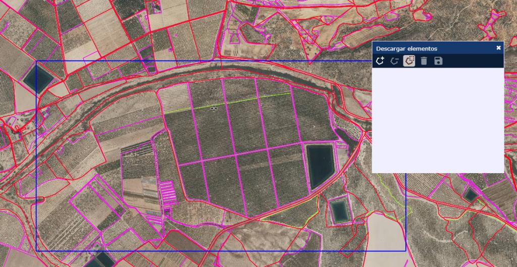 Descarga de cartografía de SIGPAC