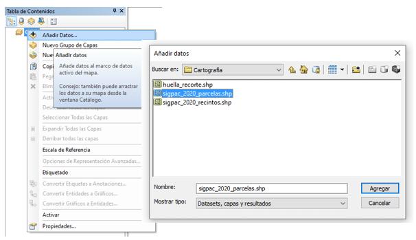Añadir Datos