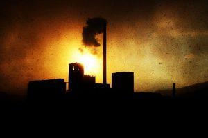La contaminación del aire es una forma negativa de impacto ambiental