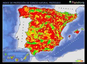 Índice de Protección de Espacios Naturales Protegidos