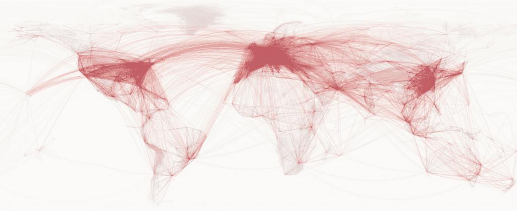 Mapa de líneas con QGIS - unir puntos con líneas