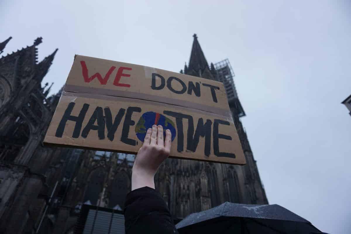 El Manifiesto del Día de Huelga por el Clima fue impulsado por movimientos de jóvenes unidos por el cambio climático
