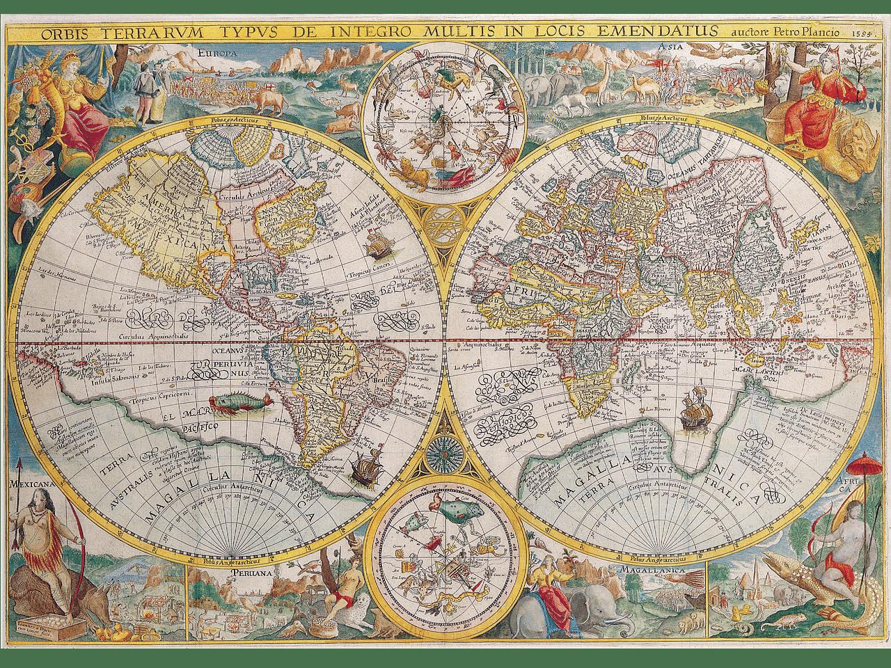 Atlas antiguo del mundo