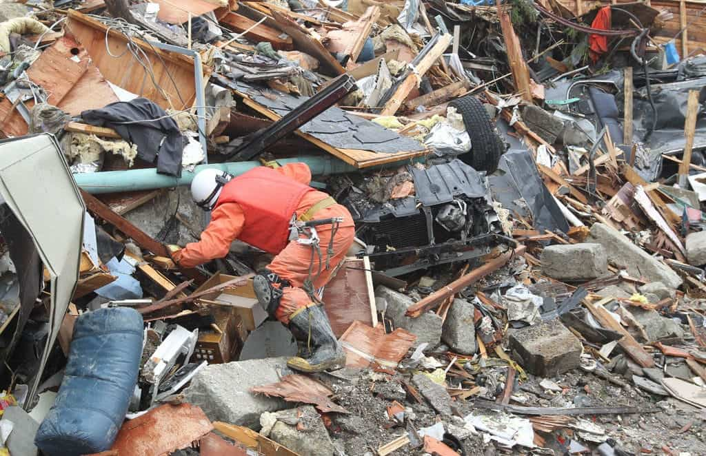 Los mapas para la gestión de catástrofes puede aplicarse a terremotos