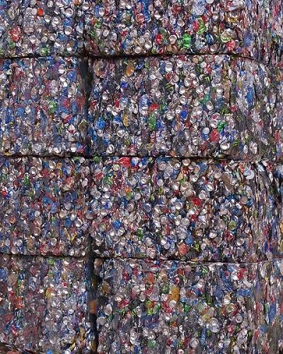 máquinas de reciclaje para la compactación del aluminio