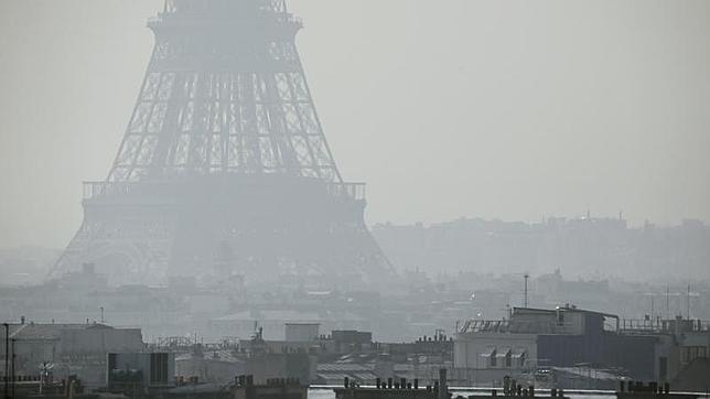 Contaminación atmosférica en Paris Fuente: http://www.abc.es