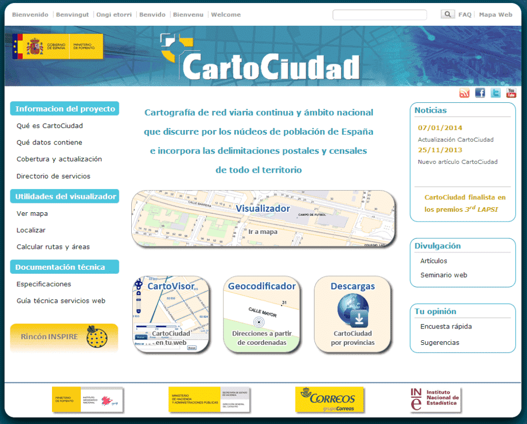 portal de cartociudad_geoinnova